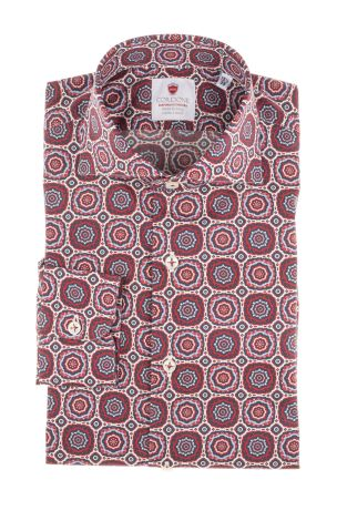 Cordone1956  - Shirt Limited Edition  Mod. Panarea   - Made by: Machine    - Type: casual   - Made In Italy