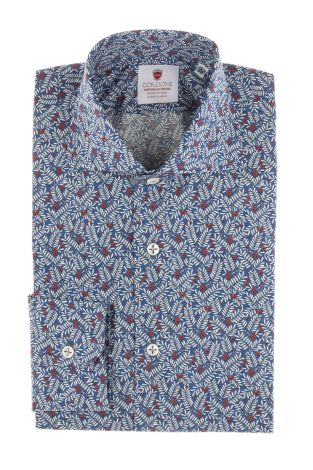 Cordone1956  - Shirt Limited Edition  Mod. Formentera   - Made by: Machine    - Type: casual   - Made In Italy
