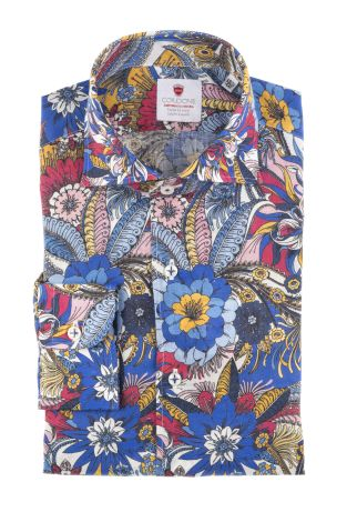 Cordone1956  - Shirt Limited Edition  Mod. Cannes   - Made by: Machine    - Type: casual   - Made In Italy