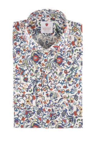 Cordone1956  - Shirt Limited Edition  Mod. Milano Marittima   - Made by: Machine    - Type: casual   - Made In Italy