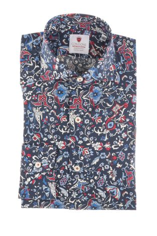 Cordone1956  - Shirt Limited Edition  Mod. Riccione  - Made by: Machine    - Type: casual   - Made In Italy