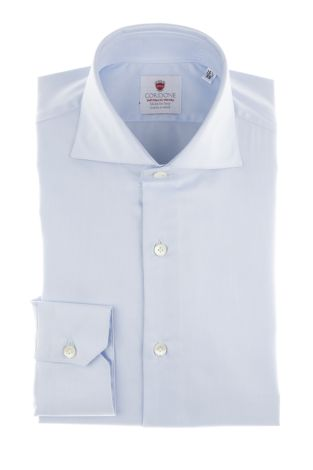 Cordone1956  - Classic Shirt Mod. Azure Easy Iron  - Made by: Machine   - Type: business  - Made In Italy
