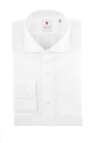 Cordone1956  - By-Hand Shirt   Mod. Cav White  - Made by: Handmade  - Type: business   - Made In Italy
