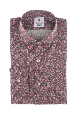 Cordone1956  - Shirt Limited Edition  Mod. Santorini  - Made by: Machine    - Type: casual   - Made In Italy