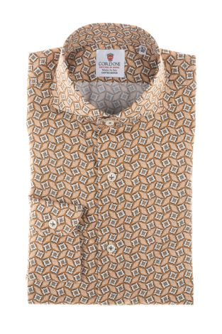 Cordone1956  - Shirt Limited Edition  Mod. Palermo   - Made by: Machine    - Type: casual   - Made In Italy