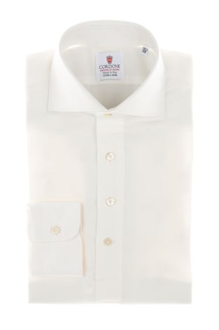 Cordone1956  - Shirt Polo Mod. White Cashmere Polo Shirt   - Made by: Handmade  - Type: business   - Made In Italy