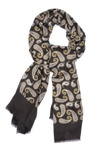 Cordone1956 - Scarf Mod. Scarves 18 - Fabric wool  - Color moro