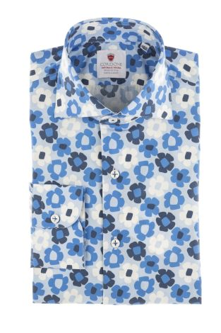 Cordone1956  - Limited Edition Shirt   Mod. Taormina   - Made by: Machine    - Type: casual   - Made In Italy