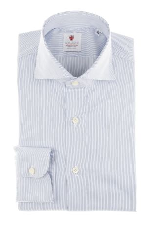 Cordone1956  - By-Hand Shirt   Mod. Stripes 1 Comfort   - Made by: Handmade  - Type: business   - Made In Italy