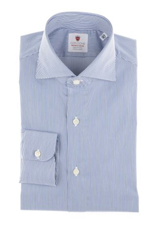 Cordone1956  - By-Hand Shirt   Mod. Stripes 2 Comfort   - Made by: Handmade  - Type: business   - Made In Italy