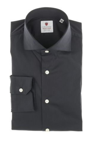 Cordone1956  - Classic Shirt Mod. Topazio blue  - Made by: Machine   - Type: business  - Made In Italy