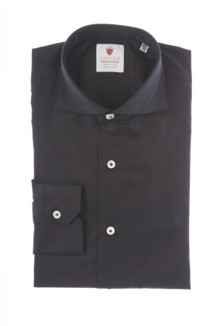 Cordone1956  - By-Hand Shirt   Mod. Oxford Black  - Made by: Handmade  - Type: business   - Made In Italy