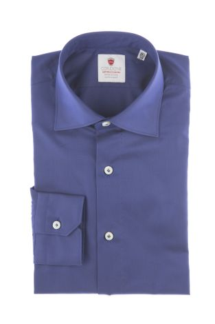 Cordone1956  - By-Hand Shirt   Mod. Oxford Blue  - Made by: Handmade  - Type: business   - Made In Italy