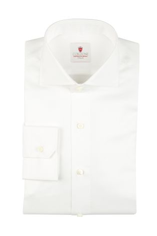Cordone1956  - By-Hand Shirt   Mod. Royale White   - Made by: Handmade  - Type: business   - Made In Italy