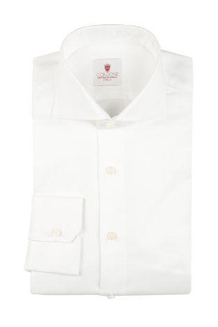 Cordone1956  - By-Hand Shirt   Mod. Oxford White   - Made by: Handmade  - Type: business   - Made In Italy