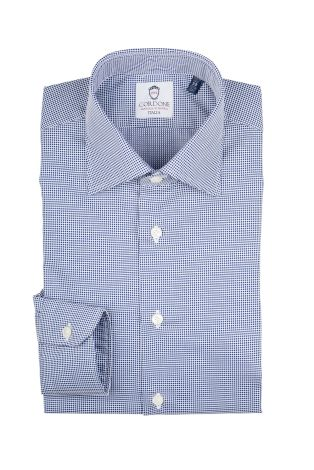 Cordone1956  - Classic Shirt Mod. Piquet  - Made by: Machine   - Type: casual   - Made In Italy