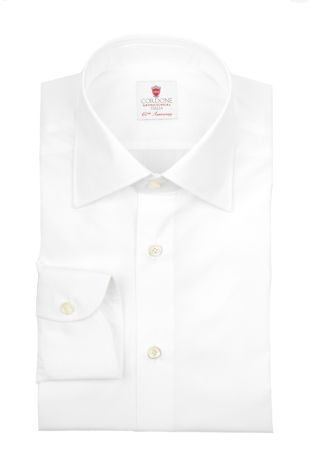 Cordone1956  - By-Hand Shirt   Mod. Pop White   - Made by: Handmade  - Type: business   - Made In Italy