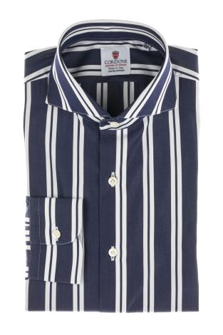 Cordone1956  - Classic Shirt Mod. Regent Blue  - Made by: Machine   - Type: casual  - Made In Italy