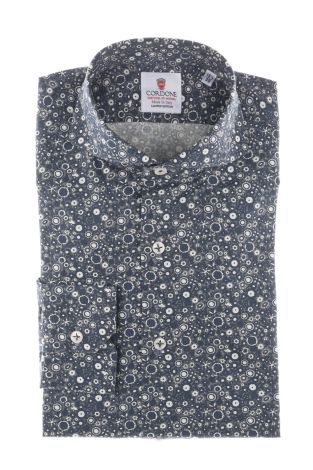 Cordone1956  - Shirt Limited Edition  Mod. Mikonos   - Made by: Machine    - Type: casual   - Made In Italy