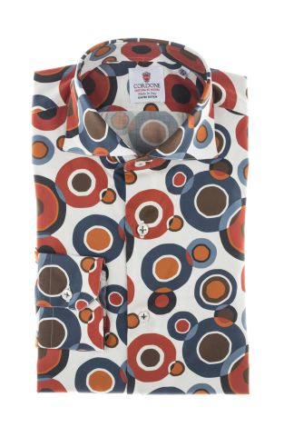 Cordone1956  - Shirt Limited Edition  Mod. New York  - Made by: Machine    - Type: casual   - Made In Italy