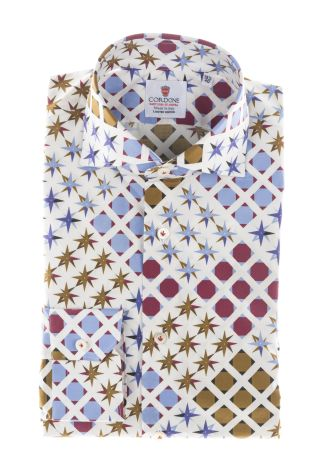 Cordone1956  - Shirt Limited Edition  Mod. Cortina   - Made by: Machine    - Type: casual   - Made In Italy