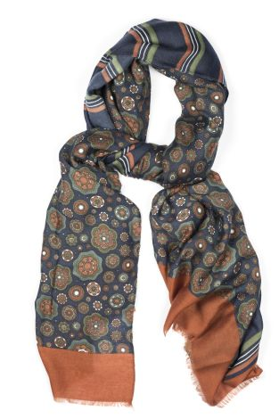 Cordone1956 - Scarf Mod. Scarves 1  - Fabric Wool - Color Bordeaux