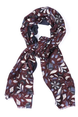 Cordone1956  - Scarf Mod. Scarves 7  - Fabric wool   - Color Bordeaux