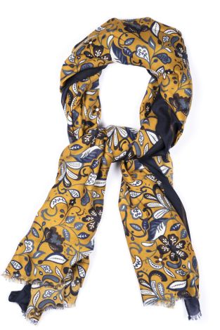 Cordone1956 - Scarf Mod. Scarves 8 - Fabric wool  - Color mustard