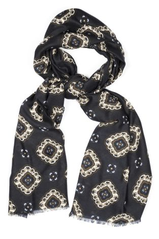 Cordone1956 - Scarf Mod. Scarves 15 - Fabric wool  - Color blue