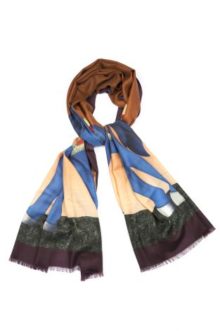 Cordone1956  - Scarf Mod. Scarves 22  - Fabric cashmere   - Color multicolor
