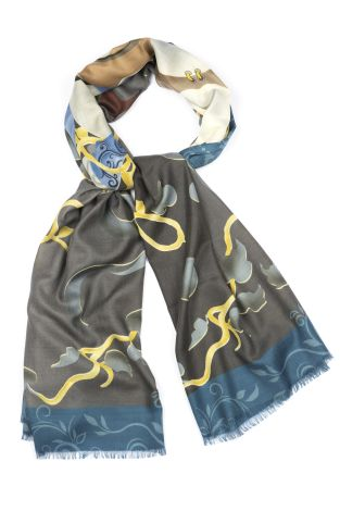 Cordone1956  - Scarf Mod. Scarves 24  - Fabric cashmere   - Color multicolor