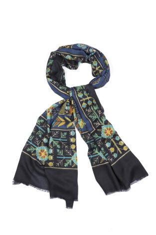 Cordone1956  - Scarf Mod. Scarves 26  - Fabric cashmere   - Color multicolor