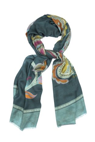 Cordone1956  - Scarf Mod. Scarves 33  - Fabric cashmere   - Color multicolor