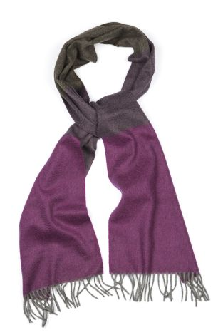 Cordone1956  - Scarf Mod. Scarves 35  - Fabric sable  - Color violet