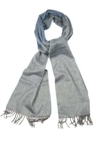 Cordone1956 - Scarf Mod. Scarves 36 - Fabric sable - Color grey/blue