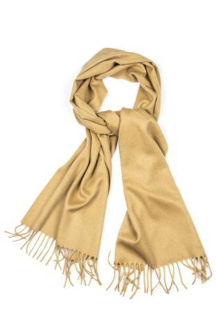 Cordone1956 - Scarf Mod. Scarves 37 - Fabric sable - Color mustard