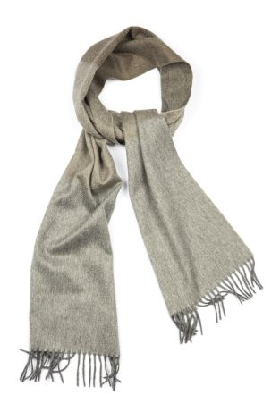Cordone1956  - Scarf Mod. Scarves 40  - Fabric sable  - Color grey/Beige