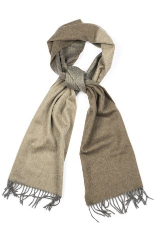 Cordone1956 - Scarf Mod. Scarves 41 - Fabric cashmere - Color brown /beige