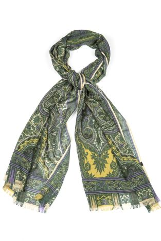 Cordone1956  - Scarf Mod. Scarves 49  - Fabric seta-wool   - Color multicolor