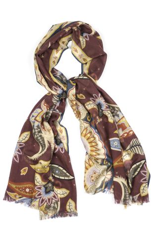 Cordone1956  - Scarf Mod. Scarves 51  - Fabric seta-wool   - Color multicolor
