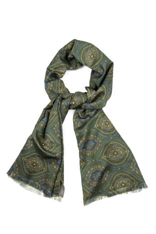 Cordone1956  - Scarf Mod. Scarves 56  - Fabric wool   - Color multicolor