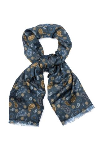 Cordone1956  - Scarf Mod. Scarves 58 - Fabric wool   - Color multicolor