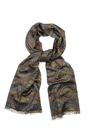 Cordone1956  - Scarf Mod. Scarves 59 - Fabric wool   - Color multicolor