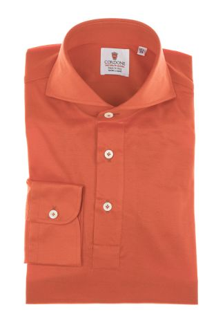 Cordone1956 - Mod. Shirt Polo Red - Shirt By-Hand - Made In Italy