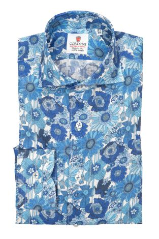 Cordone1956 - Shirts Linen Mod. Mykonos - Made by Machine - Type Casual - Made In Italy