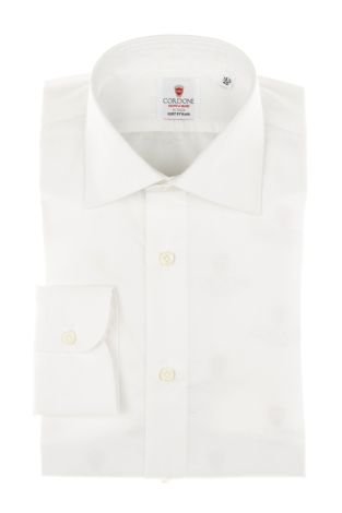Cordone1956 - Tailored Shirt Mod. Shirt Little Oxford White By-Hand - Made by Hand - Made In Italy
