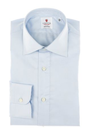 Cordone1956 - Tailored Shirt Mod. Shirt Little Oxford Azure By-Hand - Made by Hand - Made In Italy