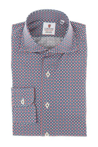 Cordone1956 - Tailored Shirt Mod. Groove - Made by Machine - Made In Italy