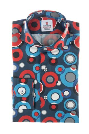 Cordone1956  - Shirt Limited Edition  Mod. Big Pois - Made by: Machine    - Type: casual   - Made In Italy